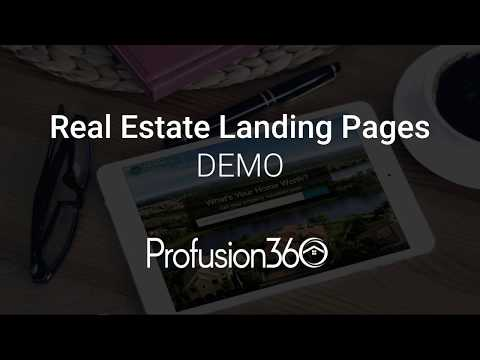 Create Real Estate Landing Pages FAST And EASY! Demo