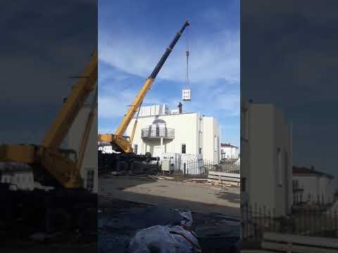 """Работа автокрана 32 тонны 30 метров стрела """"ООО техникаспец"""""""