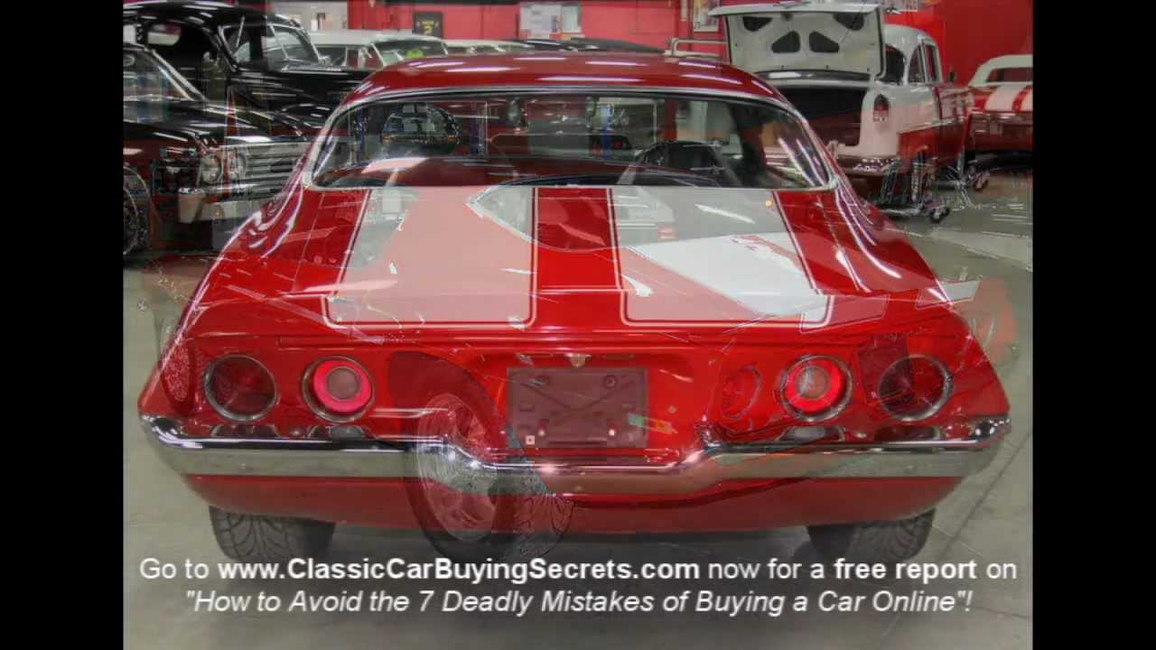1972 Chevy Camaro Classic Muscle Car for Sale in MI Vanguard Motor ...