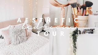 AESTHETIC ROOM TOUR 2018! (rose gold + minimalistic)