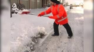 Easy Snow Shoveling Techniques - LSTraining.com