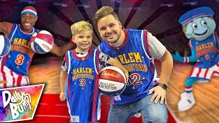 Surprising My Son With COURTSIDE SEATS at the World's CRAZIEST Basketball Game!