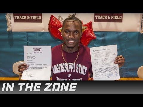 Ronaldo Griffiths of Clara Barton High Talks Getting Ready for Mississippi State | In the Zone