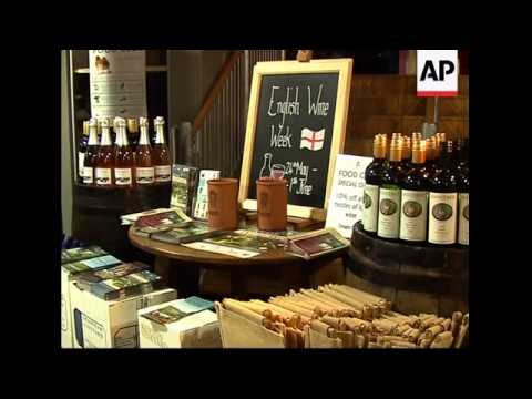 English wine industry is thriving