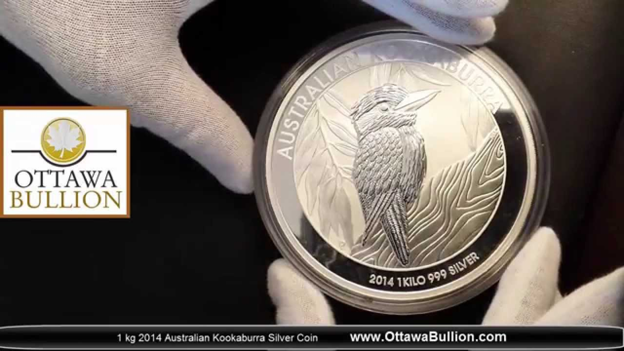 1 Kg 2014 Australian Kookaburra Silver Coin Where To