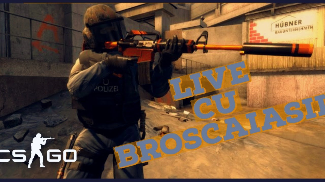 CLANUL BROSCAIASII IN ACTIUNE - CS:GO LIVE
