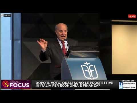 Le conseguenze per l'economia in Italia dopo il voto - Alan Friedman al Le Fonti Financial Forum