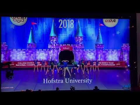 Hofstra University Dance Team                                     2018 Nationals Jazz