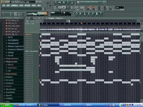Ashanti - Only You (Full Remake) using FL Studio 8