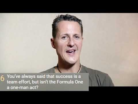 MICHAEL SCHUMACHER  UNPUBLISHED INTERVIEW 2013 INTERVISTA INEDITA