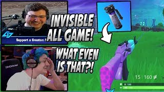 Streamers Show Off New EXPLOIT To Stay INVISIBLE & DUPLICATE Guns In Fortnite! *Game Breaking*