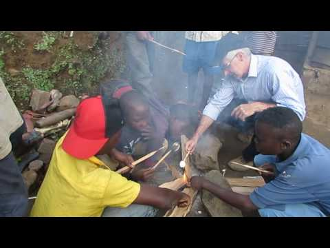 Hope for Orphans Congo 2016 Roasting Marshmallows