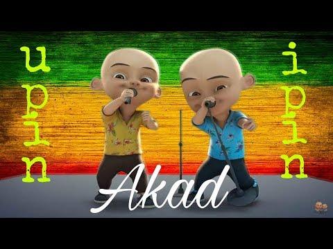 Lagu Akad - Hanin Dhiya Versi Upin Ipin (Dangdut koplo) Menari Bersama Kawan Kawan