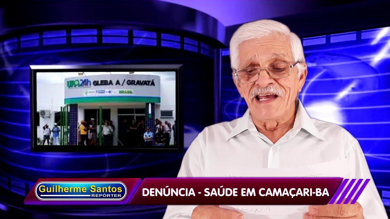 Denúncia. Saúde em Camaçari-Bahia Covid 19