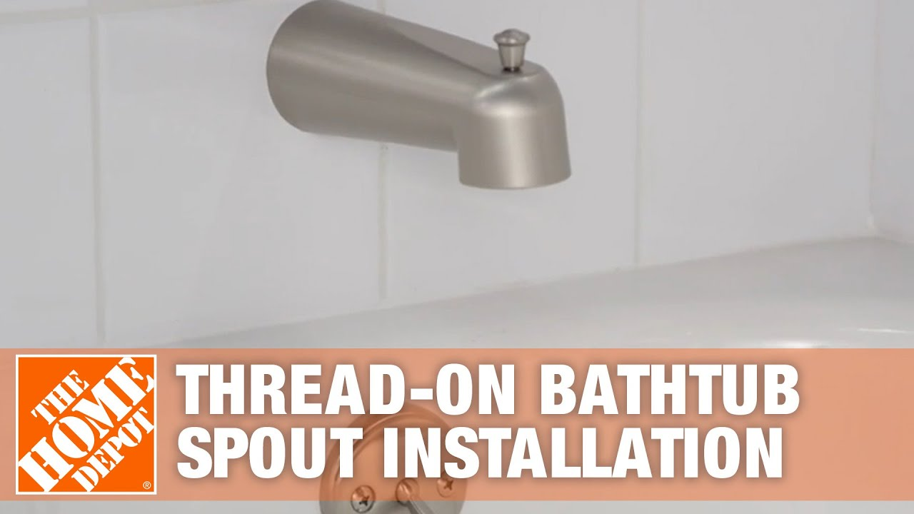 how to replace a bathtub faucet the