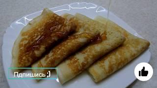 Блины на кефире - секрет приготовления ажурных блинчиков