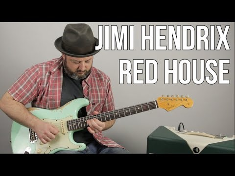 Jimi Hendrix - Red House - Inspired Guitar Lesson