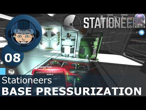 BASE PRESSURIZATION - Stationeers: Ep. #8 - Gameplay & Walkthrough