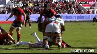 Tries in France 2011 2012 day 1 Toulon - Biarritz