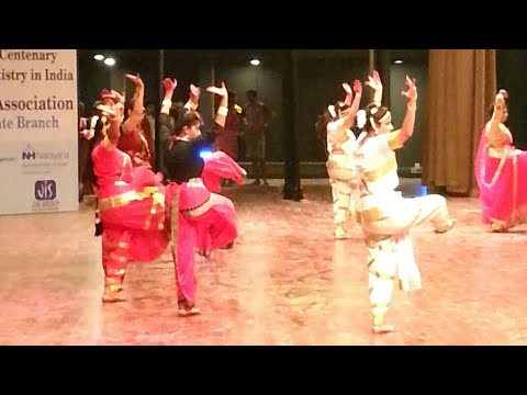 Indian modern classical dance at 'biswa bangla convention centre'