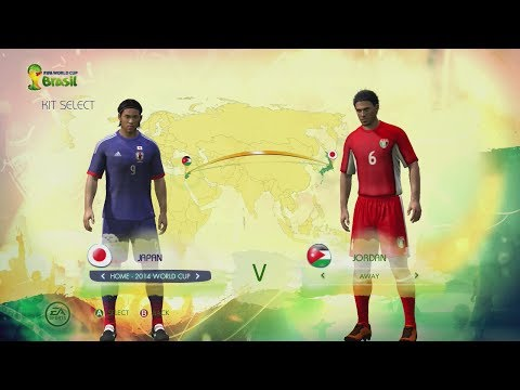 2014 FIFA World Cup Brazil: AFC Kits & Ratings (Full HD Gameplay)