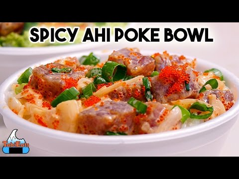 Spicy Ahi Poke Bowl (RECIPE)