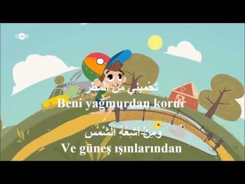 Arapça çocuk şarkısı: şapka  قبّعة