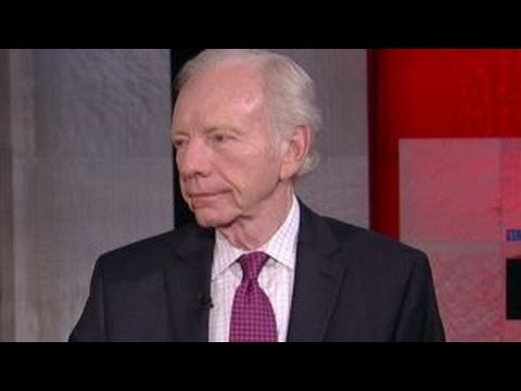 Joe Lieberman announces 2016 endorsement