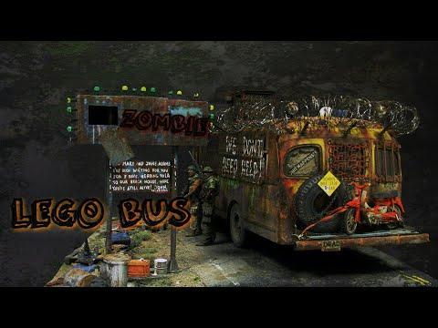 Большая LEGO самоделка Автобус -- Зомби Апокалипсис. ( BIG BUS Zombie Apocalypse)