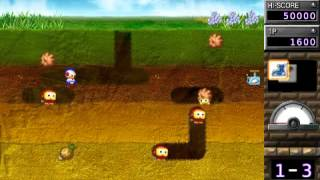 NBC (PSP):  DigDug Arrangement - World 1