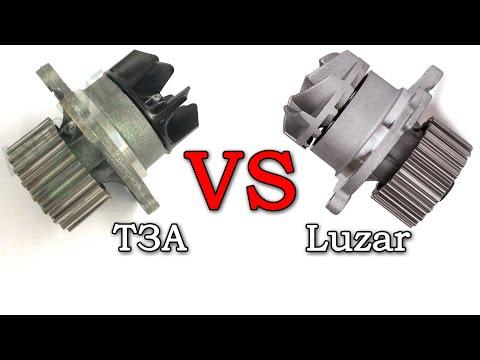 ТЗА vs Luzar. Водяной насос (помпа) ТЗА. Какой у нее срок службы? Чем лучше Luzar (видеоотзыв)?