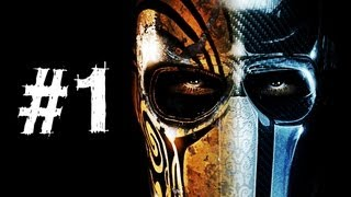 Army of Two The Devil's Cartel Gameplay Walkthrough Part 1 - Intro - Mission 1