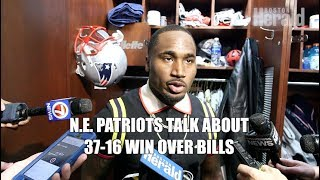N.E. Patriots Talk About 37-16 Win Over Buffalo Bills