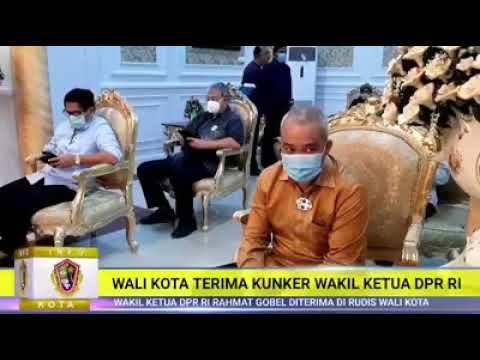 Wali kota Gorontalo Menerima Kunjungan Kerja Wakil Ketua DPR RI Rahmat Gobel