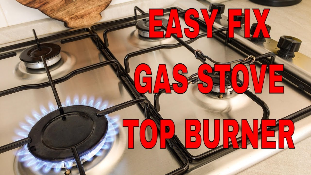 Gas Range Repair Service How To Repair A Gas Stove Top Burner An Easy Fix Youtube