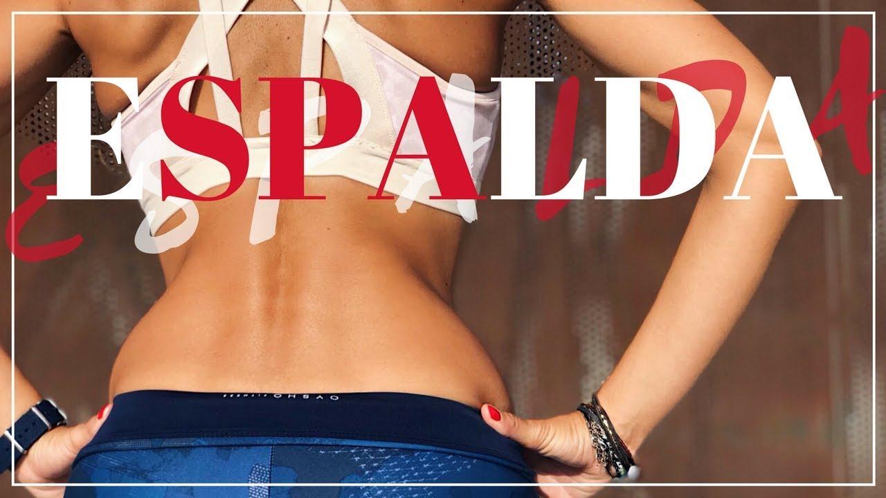 ejercicios para quemar grasa localizada en la espalda