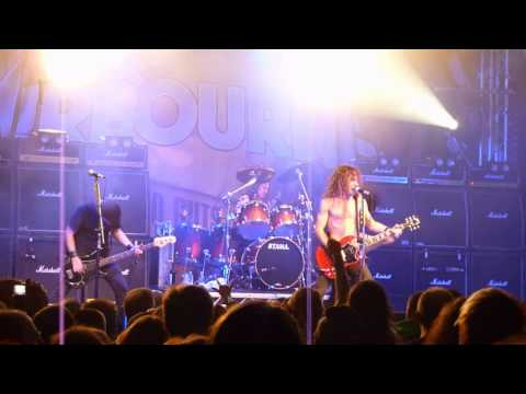 Airbourne - Diamond in the Rough (Live - Hard Rock Hell, Prestatyn, Dec 2010) [HD]