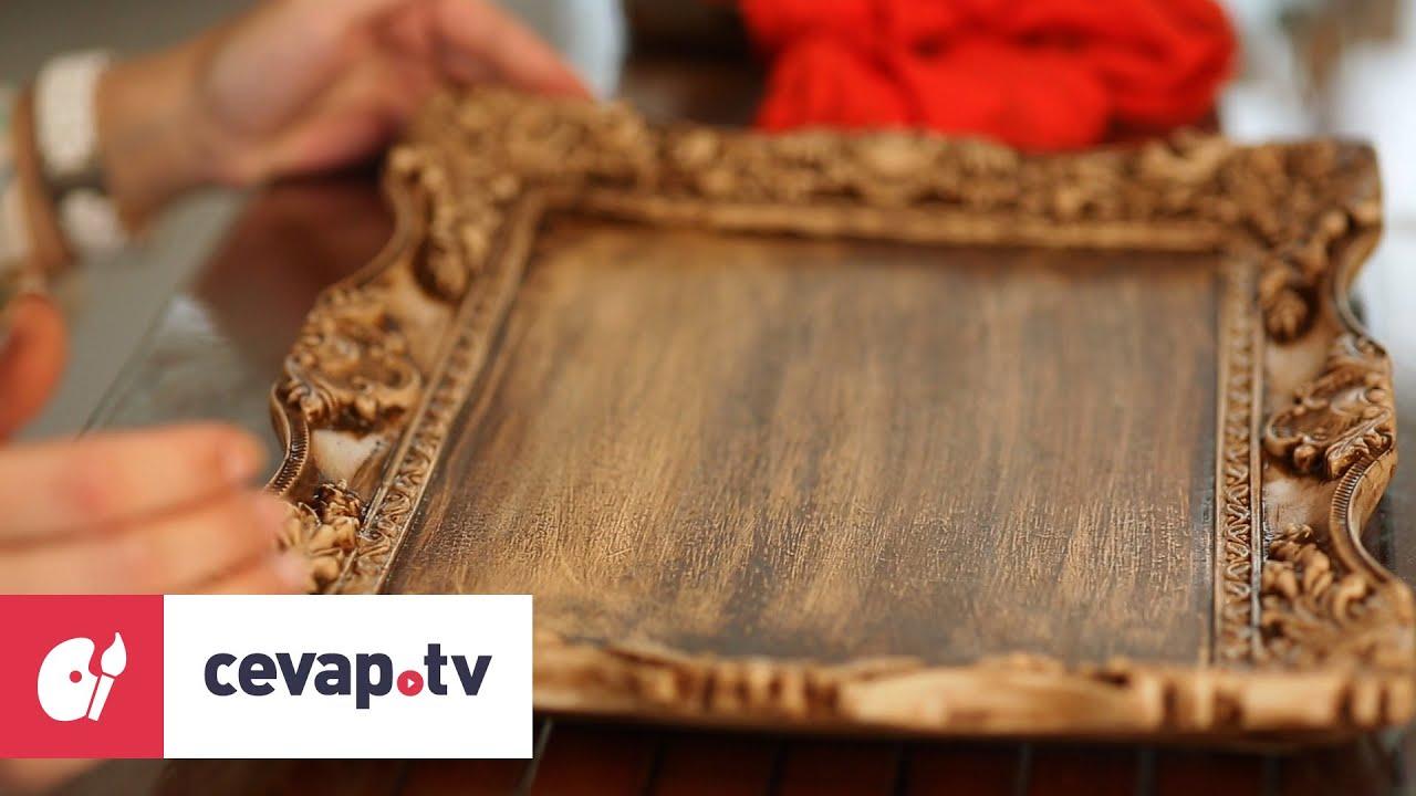 Ahşap Boyamada Antik Eskitme Tekniği Nasıl Uygulanır Youtube