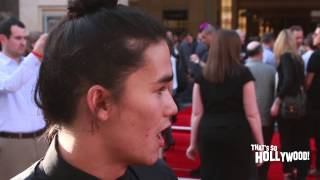 Booboo Stewart reveals what he'd do if he was Ant-Man size plus produd ot be Asian American