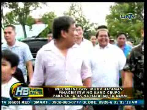 several group to call for resignation of incumbent gov mujiv hataman 3-27-2013