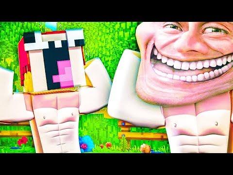 Нуб Стал КАЧКОМ — Троллинг Качков Нубов В Майнкрафт — Minecraft Trolling | ВЛАДУС