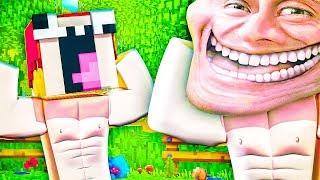 Нуб Стал КАЧКОМ — Троллинг Качков Нубов В Майнкрафт — Minecraft Trolling   ВЛАДУС