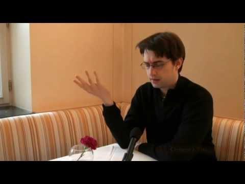 Clemens J. Setz und sein Robert aus Indigo im Interview