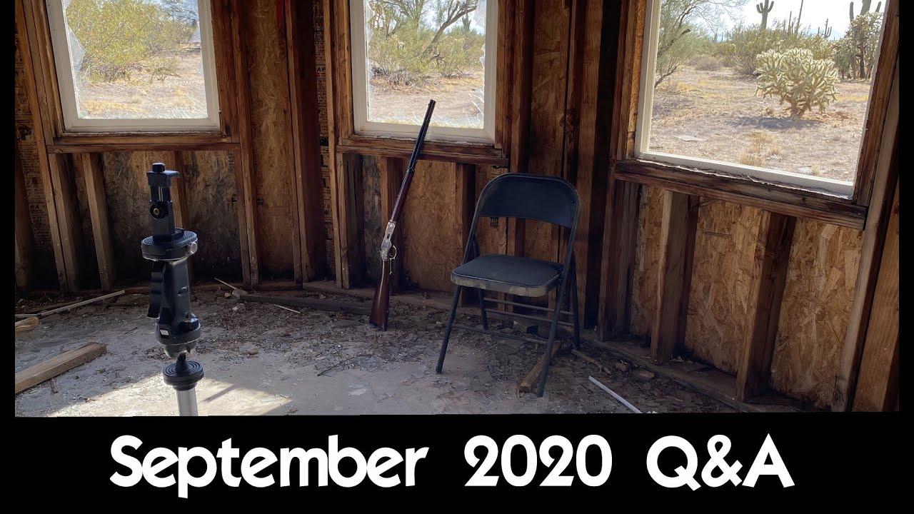 September 2020 Q&A