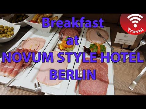 Breakfast At Novum Style Hotel Berlin
