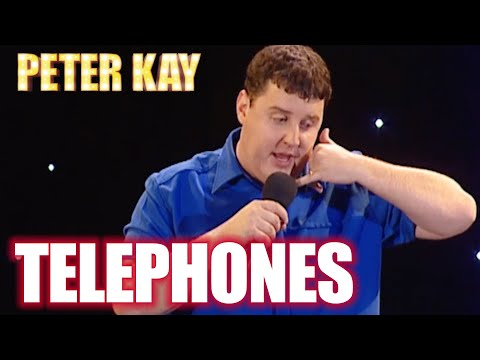 Telephone Etiquette   Peter Kay: Live at the Manchester Arena