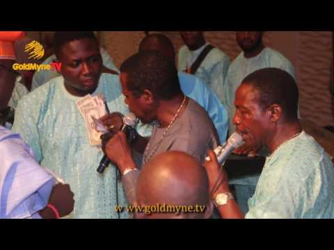 KING SUNNY ADE'S PERFORMANCE AT OBASANJO'S SON AND ADEBUTU DAUGTHER'S WEDDING CEREMONY