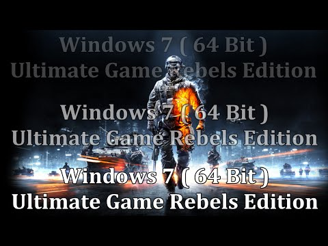Windows 7 Gamer Edition x64 [Download + Activation Remover]