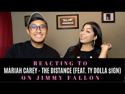 mariah-carey---the-distance-(feat.-ty-dolla-$ign)-on-jimmy-fallon-reaction!