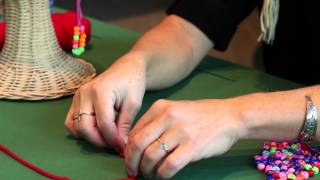 How to Make Tlingit Ear Loops: Step-by-Step with Shelly Laws (Demonstration)